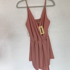 Blush Reverse brand jump suit